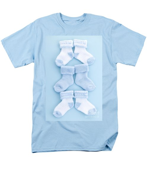 Blue baby socks T-Shirt by Elena Elisseeva