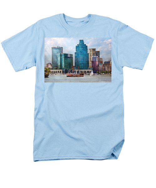 City - Baltimore MD - Harbor east  T-Shirt by Mike Savad