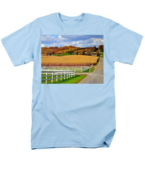 Country Lane T-Shirt by Frozen in Time Fine Art Photography