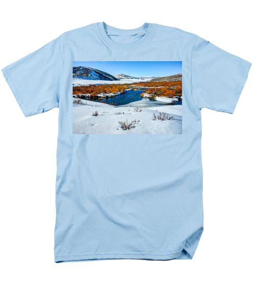 Currant Creek on Ice T-Shirt by Chad Dutson