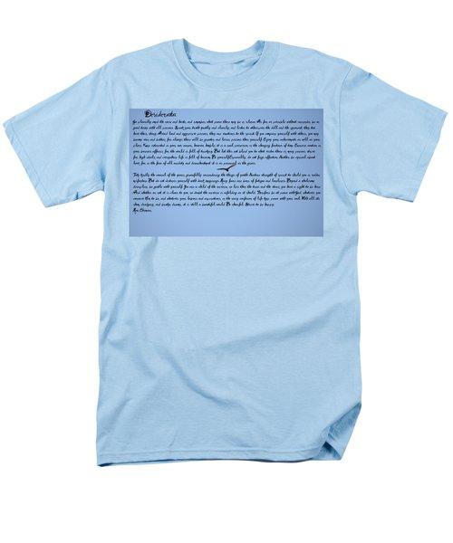 Desiderata Men's T-Shirt  (Regular Fit) by Bill Cannon