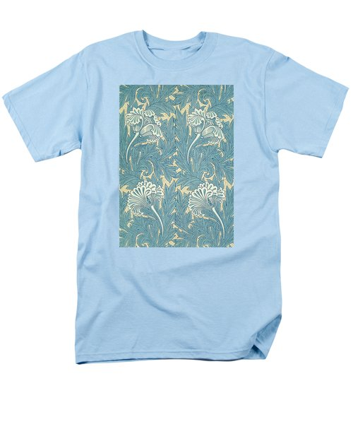 Design in Turquoise T-Shirt by William Morris