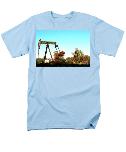 East Texas Oil Field T-Shirt by Kathy  White