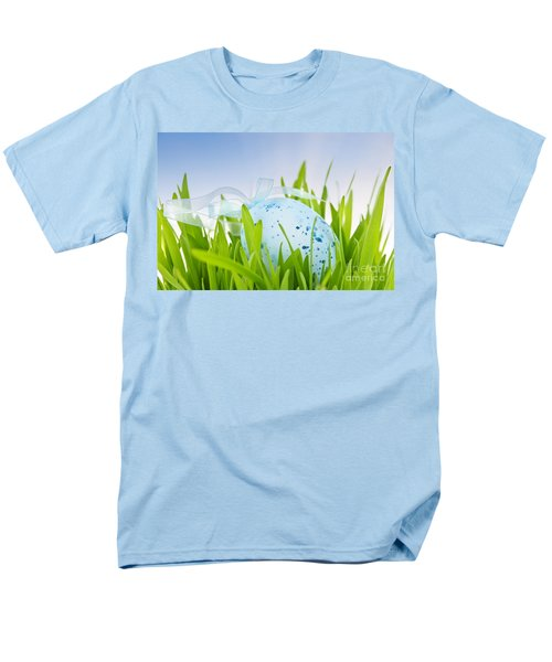 Easter egg in grass T-Shirt by Elena Elisseeva