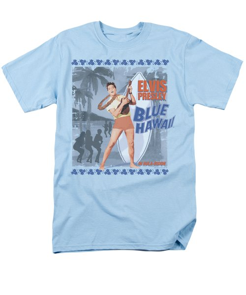 Elvis - Blue Hawaii Poster Men's T-Shirt  (Regular Fit) by Brand A