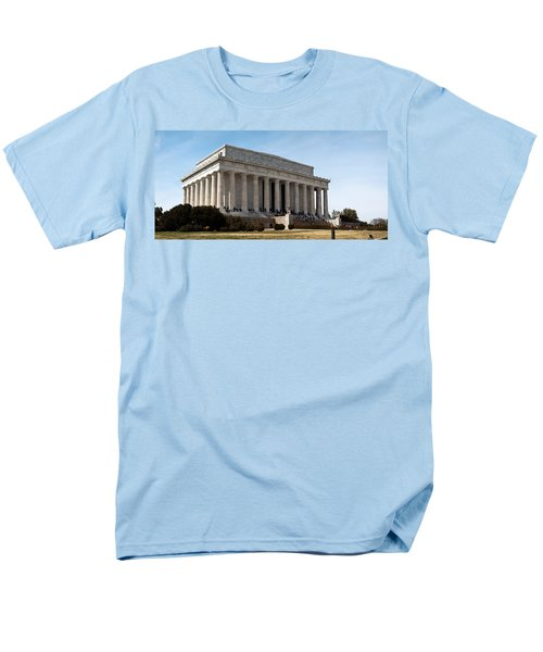 Facade Of The Lincoln Memorial, The Men's T-Shirt  (Regular Fit) by Panoramic Images
