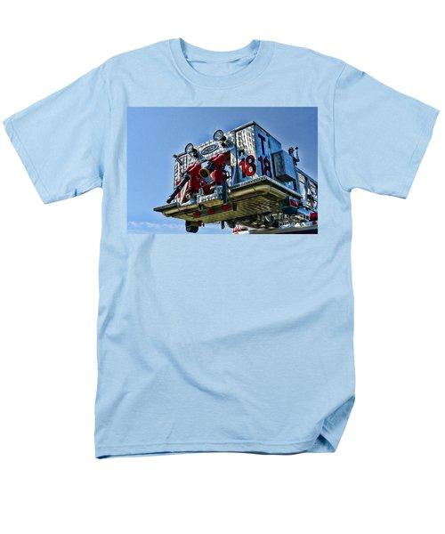 Fireman - The Fireman's Ladder T-Shirt by Paul Ward