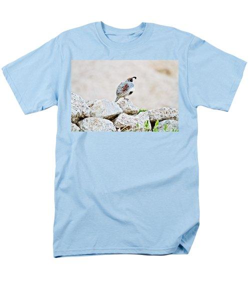 Gambel's Quail T-Shirt by Scott Pellegrin