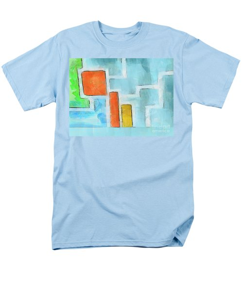 Geometric abstract T-Shirt by Pixel Chimp