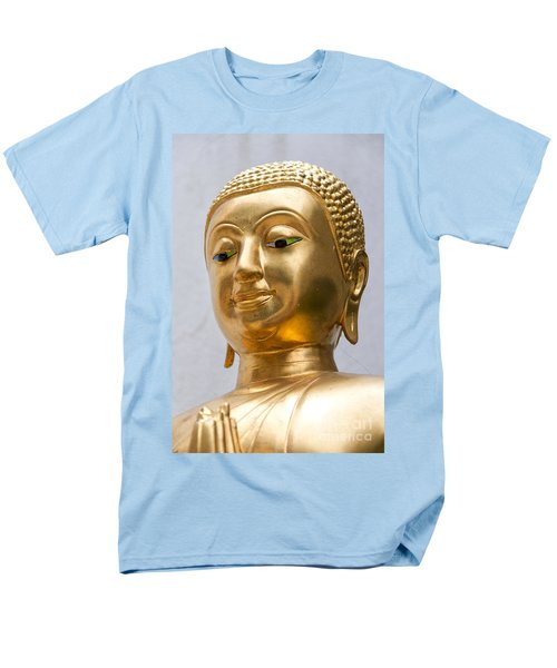 Golden Buddha Statue T-Shirt by Antony McAulay