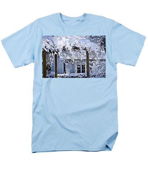 House under snow T-Shirt by Elena Elisseeva