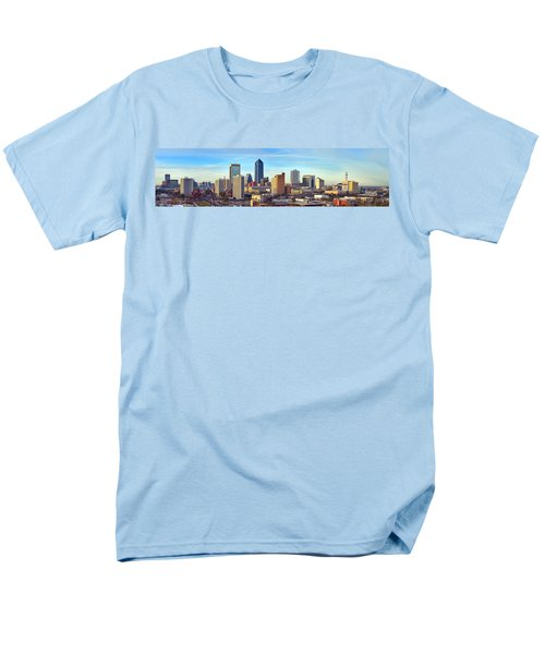 Jacksonville Skyline Morning Day Color Panorama Florida T-Shirt by Jon Holiday