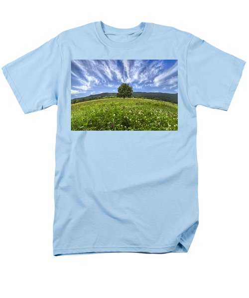 Last Tree T-Shirt by Debra and Dave Vanderlaan