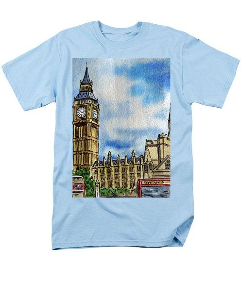 London England Big Ben T-Shirt by Irina Sztukowski