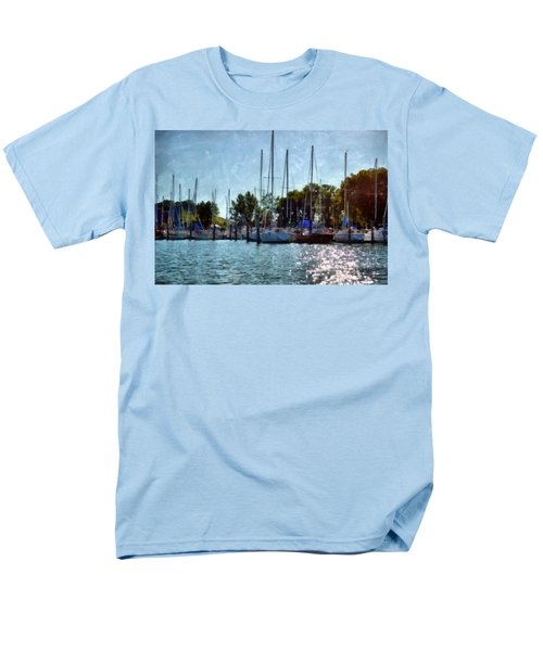Macatawa Masts T-Shirt by Michelle Calkins
