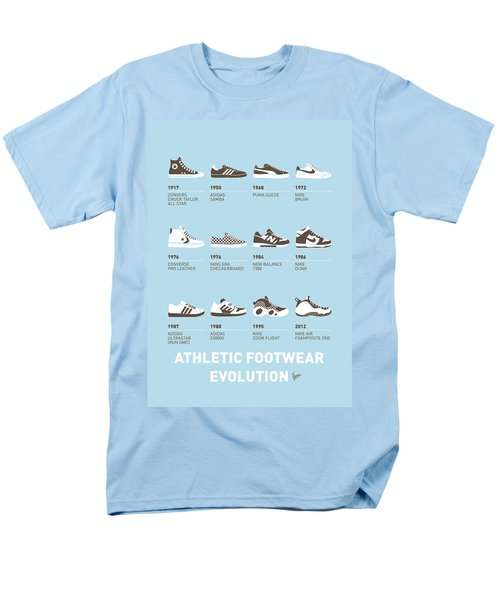 My Evolution Sneaker minimal poster T-Shirt by Chungkong Art