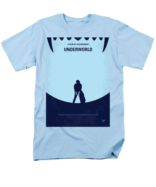 No122 My UNDERWORLD minimal movie T-Shirt by Chungkong Art