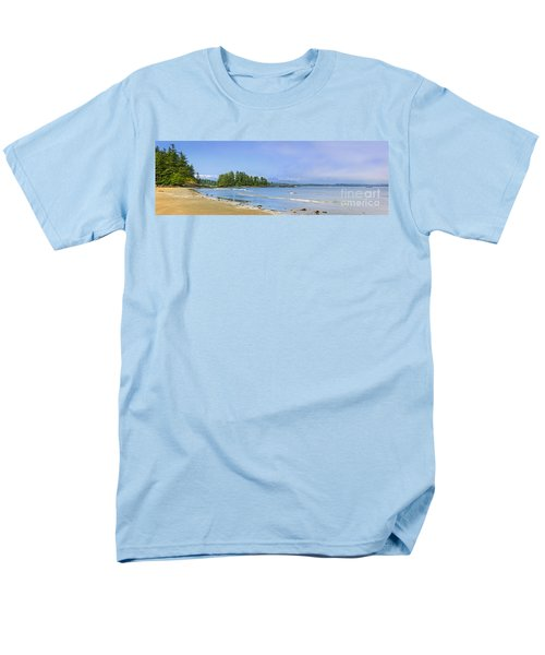 Panorama of Pacific coast on Vancouver Island T-Shirt by Elena Elisseeva