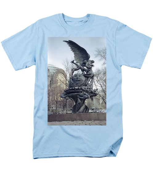 PEACE SCULPTURE in NEW YORK T-Shirt by Daniel Hagerman