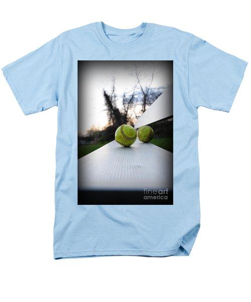 Play Ball Men's T-Shirt  (Regular Fit) by Paul Ward