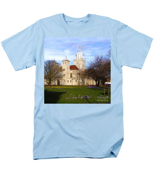 Portsmouth Cathedral at Springtime T-Shirt by Terri  Waters