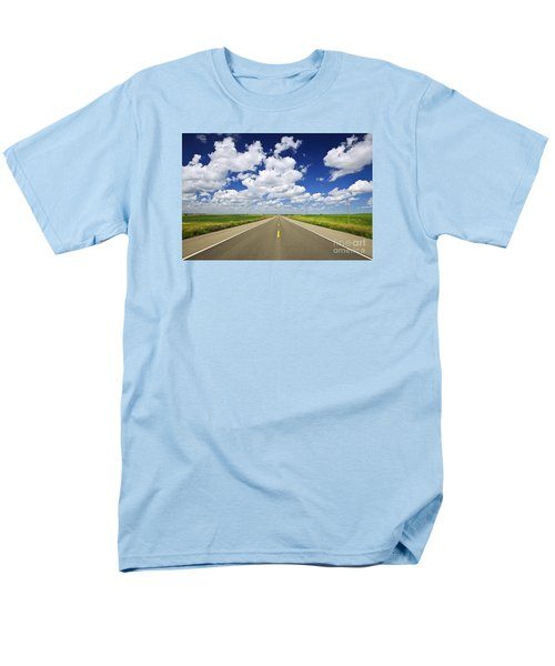 Prairie highway T-Shirt by Elena Elisseeva