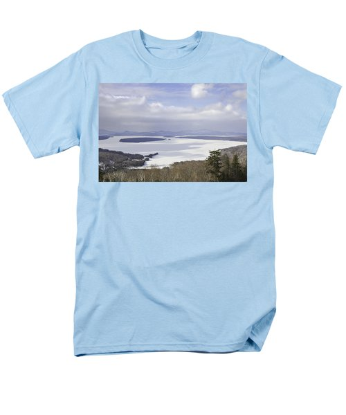 Rangeley Maine Winter Landscape T-Shirt by Keith Webber Jr