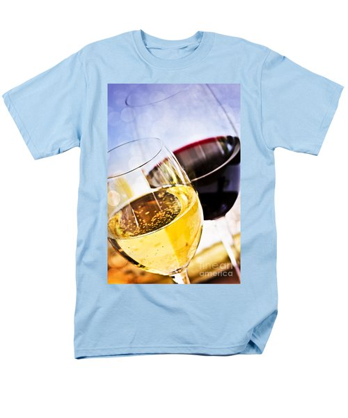 Red and white wine T-Shirt by Elena Elisseeva