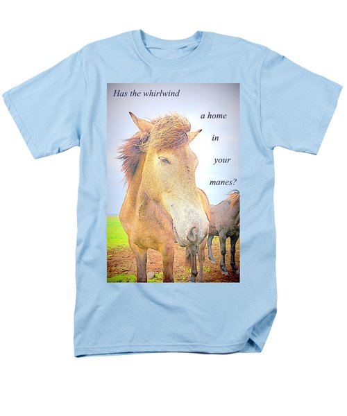 riding the whirlwind T-Shirt by Hilde Widerberg