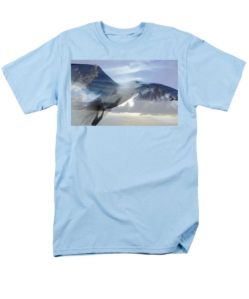 Searching The Sea - Seagull Art By Sharon Cummings T-Shirt by Sharon Cummings