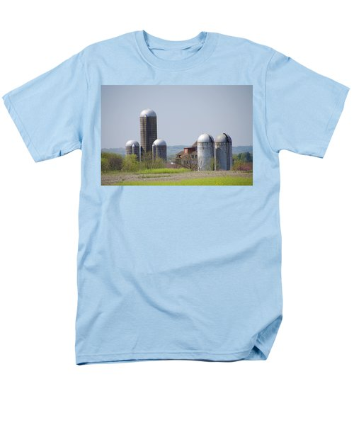Silos - Norristown Farm Park T-Shirt by Bill Cannon