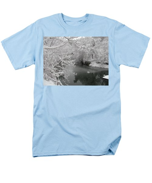 Snowy Wissahickon Creek T-Shirt by Bill Cannon