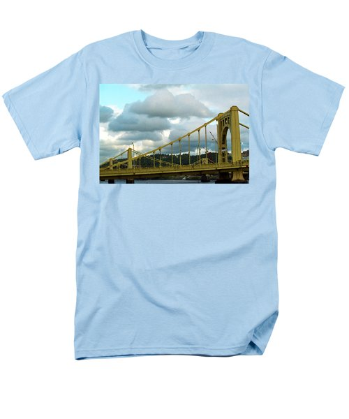 Stormy Bridge T-Shirt by Frank Romeo