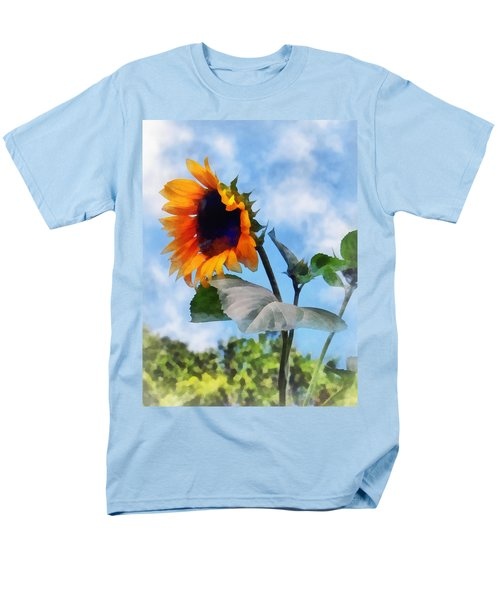 Sunflower Against the Sky T-Shirt by Susan Savad