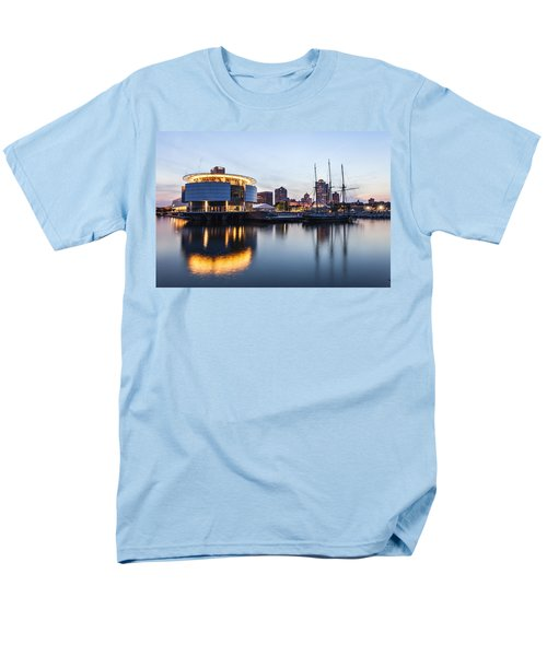 Sunset at the Dock T-Shirt by CJ Schmit
