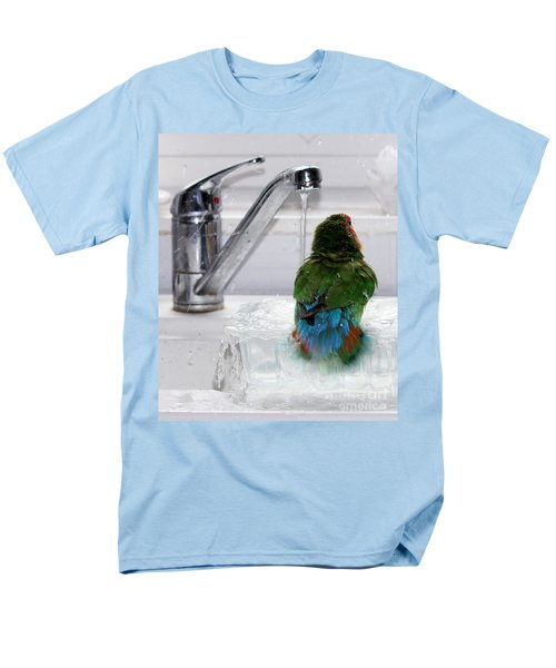 The Lovebird's Shower T-Shirt by Terri  Waters