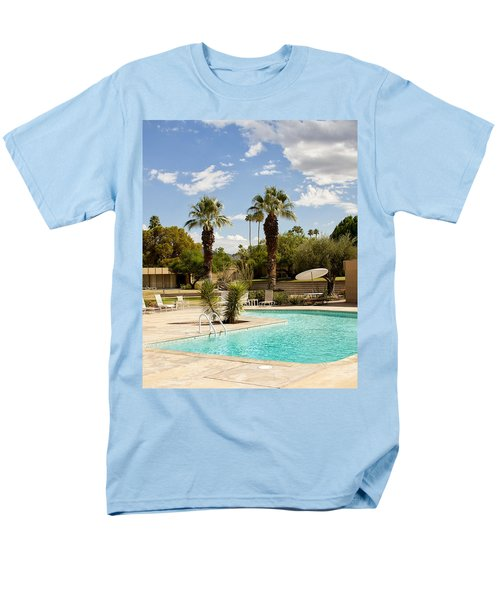 THE SANDPIPER POOL Palm Desert T-Shirt by William Dey
