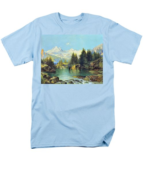 View of the Rocky Mountains T-Shirt by Susan Leggett
