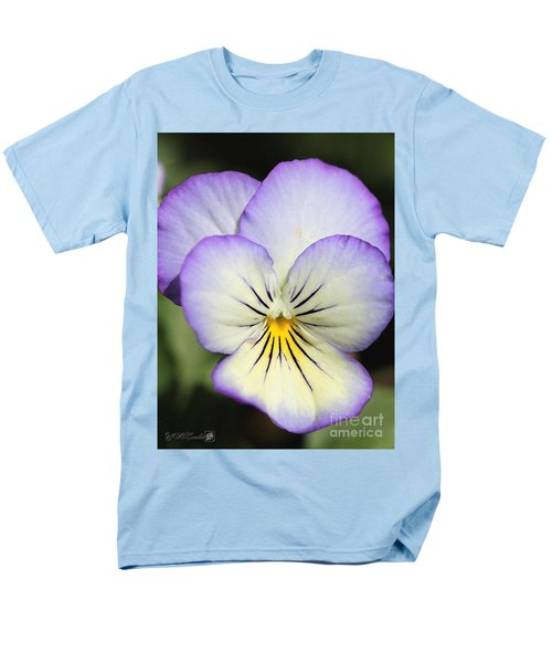 Viola named Sorbet Lemon Blueberry Swirl T-Shirt by J McCombie