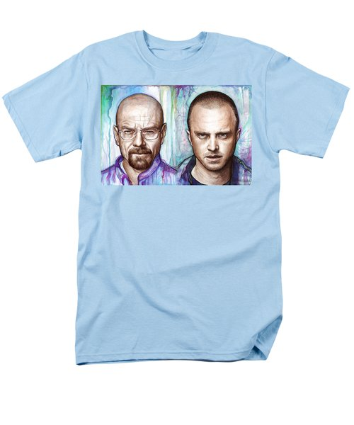 Walter and Jesse - Breaking Bad T-Shirt by Olga Shvartsur