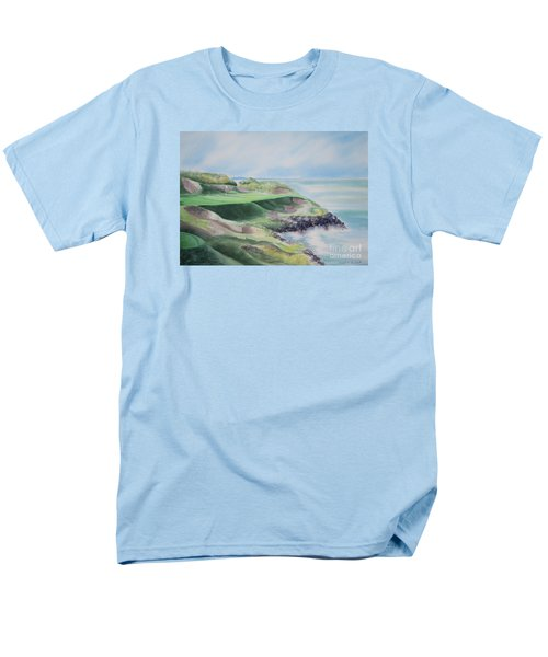 Whistling Straits 7th Hole T-Shirt by Deborah Ronglien