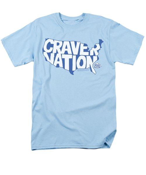 White Castle - Craver Nation Men's T-Shirt  (Regular Fit) by Brand A