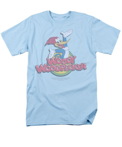 Woody Woodpecker - Retro Fade Men's T-Shirt  (Regular Fit) by Brand A