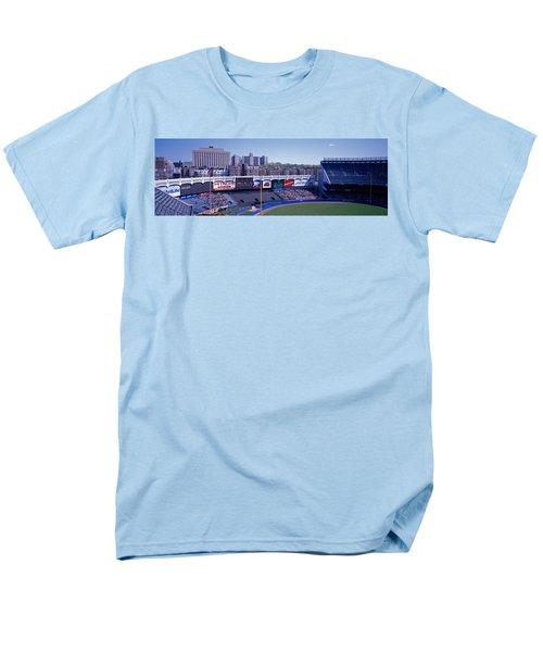 Yankee Stadium Ny Usa Men's T-Shirt  (Regular Fit) by Panoramic Images