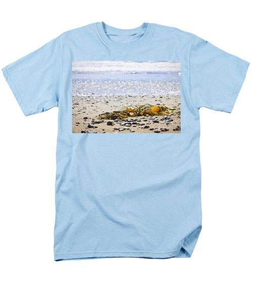 Beach detail on Pacific ocean coast T-Shirt by Elena Elisseeva