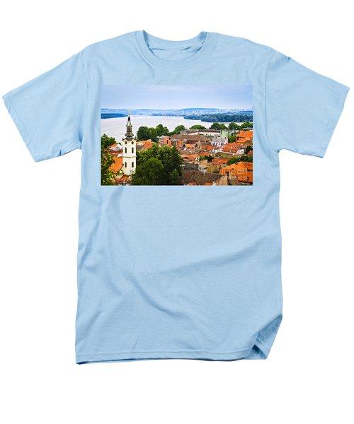Zemun rooftops in Belgrade T-Shirt by Elena Elisseeva