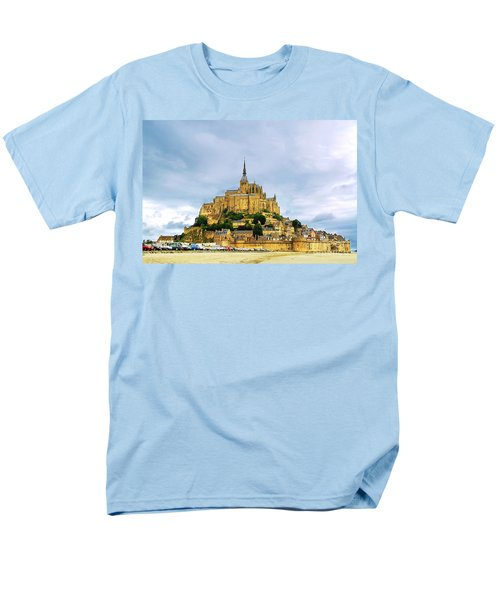 Mont Saint Michel T-Shirt by Elena Elisseeva