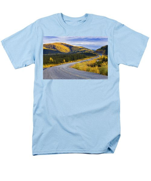 Alaska Highway Near Beaver Creek T-Shirt by Yves Marcoux