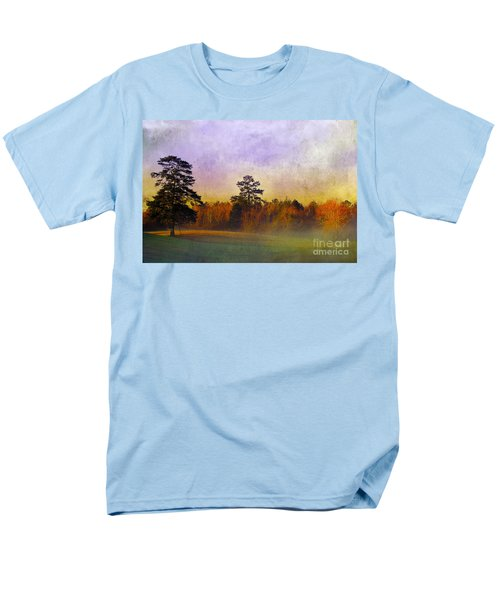 Autumn Morning Mist T-Shirt by Judi Bagwell