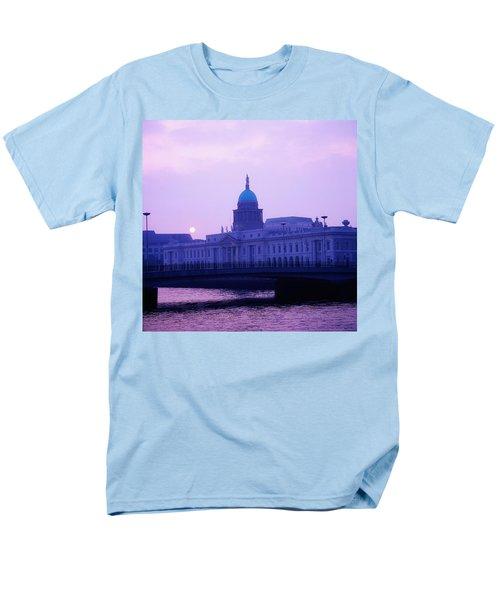 Custom House, Dublin, Co Dublin, Ireland T-Shirt by The Irish Image Collection